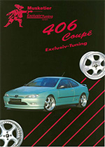 Musketier peugeot 406 coupe