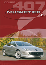 Musketier peugeot 407 coupe